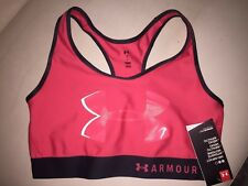 b9b62d353a Under Armour Crossback Graphic Womens Sports Bra - Red SIZE medium