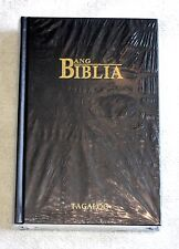 Tagalog Bible, Old Version, Traditional Version, Hardcover, Black, Ang Biblia