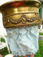 ANTIQUE 19th FRENCH GILT FINISH CIEL DE LIT BED CANOPY COURONNE CROWN Louis XVI