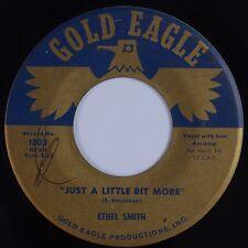 ETHEL SMITH:  I Haven't Had Good Night's Sleep GOLD EAGLE R&B Soul 45 Hear