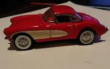 1987 FRANKLIN MINT Precision Models 1:43 1957 Chevrolet Corvette Great