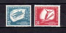 GERMANY DDR 1951 Ski set MLH