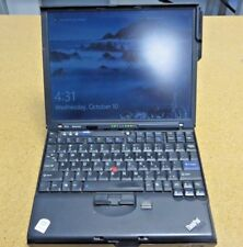 "Lenovo X61S 12"" 4GB RAM 320 GB HDD with X6 Ultrabase"