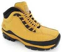 Mujer Seguridad Ligero Botas Negro Miel Puntera de acero Zapatillas Talla 3-8