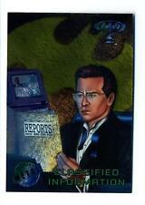 Fleer 1995 Batman Forever Metal Base Card #27 Classified Information