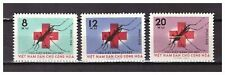 s27117A) VIETNAM 1962 MNH** Red Cross Malaria 3v