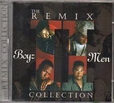 BOYZ II MEN - THE REMIX COLLECTION - CD (OTTIME CONDIZIONI)