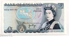 ~ BANK OF ENGLAND - Five Pound £5 Banknote - PAGE EZ - B336 LAST SERIES ~