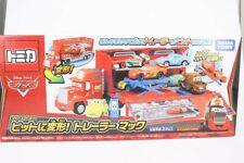 Disney Takara Tomy Tomica CARS Contain Transforming Trailer Mack Truck Toy car