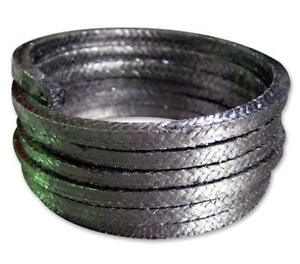 Graphite Gland Packing (Various Sizes, Sold Per Metre)