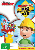 Handy Manny: Big Construction Job * NEW DVD * (Region 4 Australia)