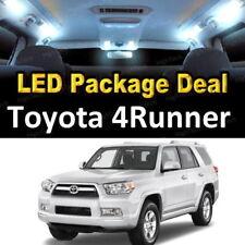 For 2010 - 2017 2018 Toyota 4Runner LED Lights Interior Package Kit WHITE 12PCS
