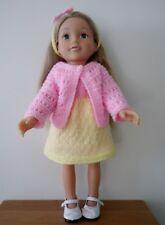 HAND Knitted Vestiti per bambole American Girl/Bambola designafriend o simili