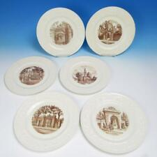 Wedgwood China - Ivy League Brown University Collector Plate - 6 Plates Set 1