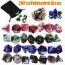 28 Pcs/Set Polyhedral Dice For DND RPG MTG Game Dragons D20 D12 D10 D8 D6 D4