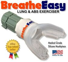Respiratory Aid & Lung Exerciser w Video & eBook - BreatheEasy - the BEST Value!