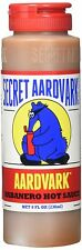 Secret Aardvark Habanero Sauce 8 Fl Oz - As Featured on Season 4 of Hot Ones