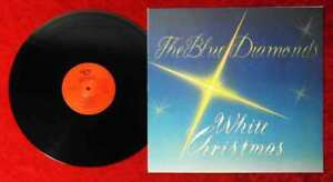 LP Blue Diamonds: White Christmas (Telstar 575/21123) D 1987