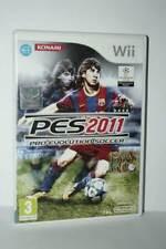PES 2011 PRO EVOLUTION SOCCER 2011 GIOCO USATO NINTENDO Wii ED ITA PAL MG1 55308