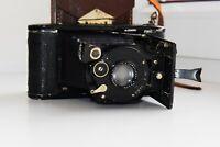 RARE MANUFACTURE FRANCAIS LUMINOR Germany Folding Camera Medium Format Agfa lens