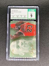 1995-96 Flair #235 Michael Jordan Style CSG 9 Mint Chicago Bulls GOAT w/sub grad
