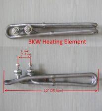 "Hot Tub Spa Heater Element 3KW 240V 10""-25.4cm Balboa M7 Gecko Heating Element"