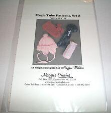 MAGGIES CROCHET MAGIC TUBE PATTERNS SET 3 PA731 PATTERN NIP