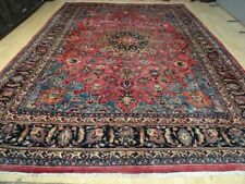 HUGE Superb Persian MESCHED CARPET RUG  HAND MADE Traditional WOOL 12ft x 8ft  7
