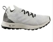 Adidas Women's Terrex Two Parley GREY/WHITE/BLACK Trail Running Shoes Size 7.5