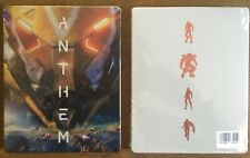 ANTHEM NEW FLUORESCENT STEELBOOK PS4 PC XBOX G2 SIZE METAL CASE IN STOCK!