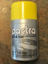 Pactra Spray Paint RC257 1/24 Slot Car RC DAYTONA YELLOW