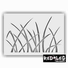 Redleg Camo large 12x9 grass camouflage stencil re-usable duck marsh