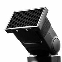Adjust Light Honeycomb Comb Grid Flash Diffuser Soft Box Bouncer for Camera!