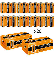 GENUINE 20 x DURACELL C SIZE INDUSTRIAL ALKALINE BATTERIES PROCELL LR14 MN1400
