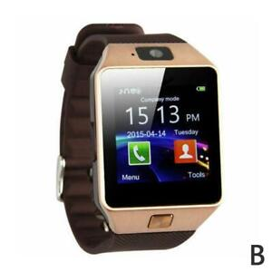 LATEST DZ09 Bluetooth Smart Watch Camera SIM Slot For HTC Android P NEW