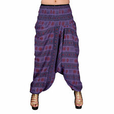 Indian Gypsy Yoga Harem Pants Trousers Hippie Cotton Baggy Boho Aladdin Trousers