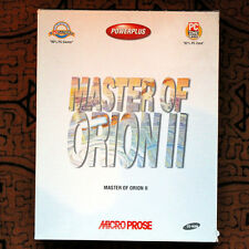 MASTER OF ORION II 2 (PC) - Big box & complete - VINTAGE COLLECTOR GAME