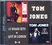 (2 in 1) Tom Jones 13 smash hits + Live in London (At the Talk Of The To
