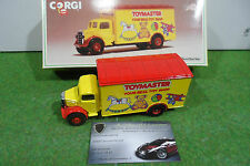 CAMION BEDFORD BOX VAN D822/I2 TOYMASTER jne/rge 1/50 CORGI miniature collection