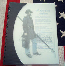 Civil War History of the 4th New York Artillery