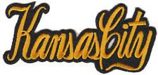 Kansas City Missouri Iron On Emblem Patch Hat Vest Jacket Biker Motorcycle Club