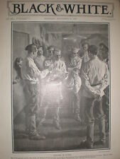 Russia Sedition in the army barracks room 1906 A Michael old print