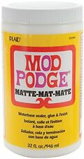 Plaid Mod Podge Matte, 32-Ounce , New, Free Shipping