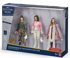 Doctor Who Companions of the Fourth Doctor Figure Set B&M 2020 Romana Sarah Jane