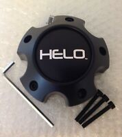 Helo Satin Black Center Cap for 5 Lug HE878 HE879 HE900 HE901 HE904 Rim S057L120