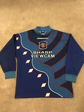 Manchester United Gardien shirt 1995/96 adultes Moyen Long Sleeve Jersey