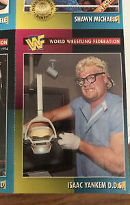 1995 KANE Isaac Yankem Glenn Jacobs ROOKIE WWF Uncut Sheet Card Full Mag WWE