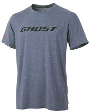 GHOST T-Shirt - Bike Tee Ghost grau/schwarz 2017 - M
