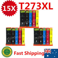 15 Generic 273XL T273 2730 Ink Cartridge for Epson XP600 XP700 XP510 XP610 XP710