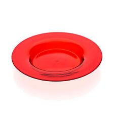 Seguso Vetri d'Arte - Red Soffiato Plant Pot Drip Saucer - 1950s Murano Glass